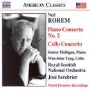 Rorem: Piano Concerto No. 2; Cello Concerto thumbnail